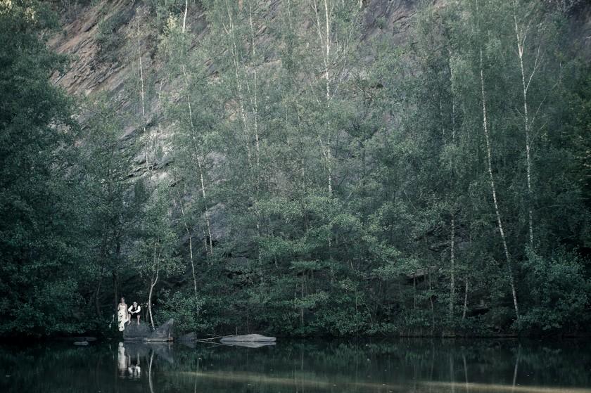 Seance-After à l'étang de Montcornet dans les Ardennes | Aurelie & Jean-Francois